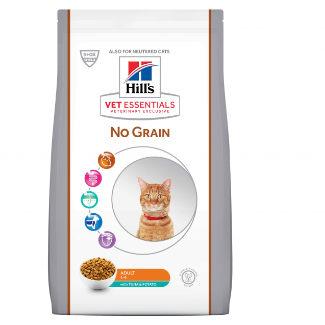 Hill's Vet Essentials Adult No Grain, tonnikala & peruna 1.5 kg