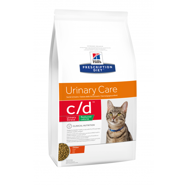 Hill's Prescription Diet Feline c/d Stress Reduced Calorie 4 kg