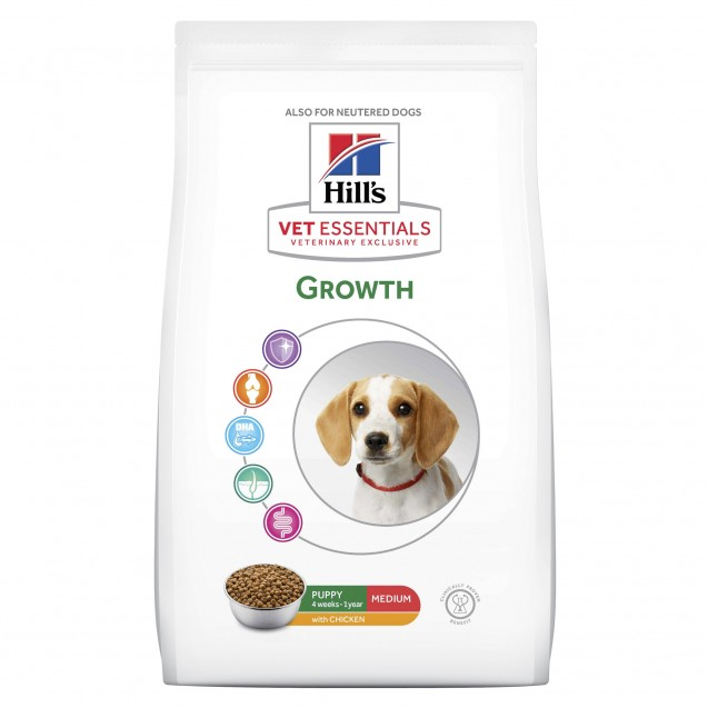 Hill's Vet Essentials Puppy Growth Medium 10 kg