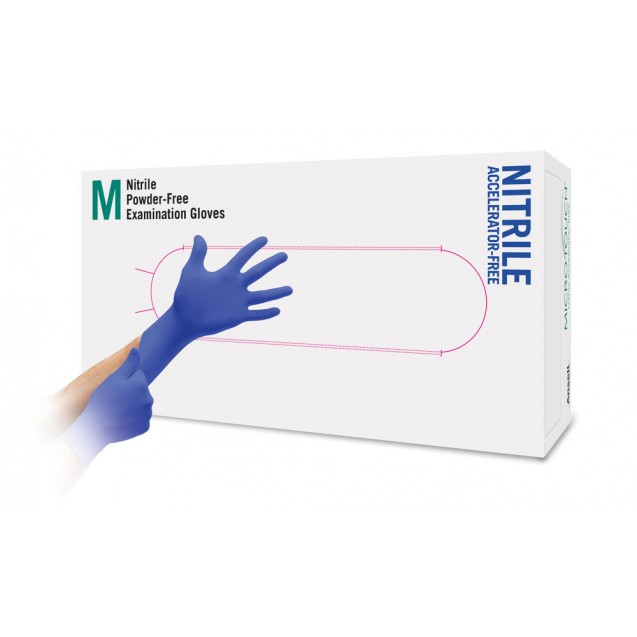 Micro-Touch Nitrile Accelerator Free M 100 kpl