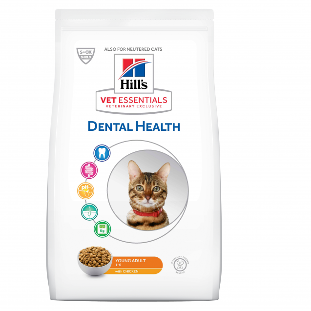 Hill's Vet Essentials Feline Young Adult Dental Health 1,5 kg