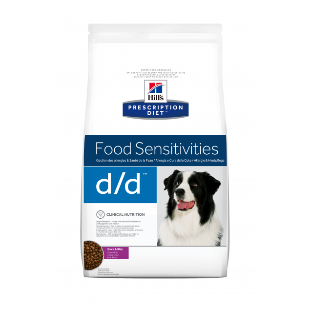 Hill's Prescription Diet  Canine d/d Duck 12 kg