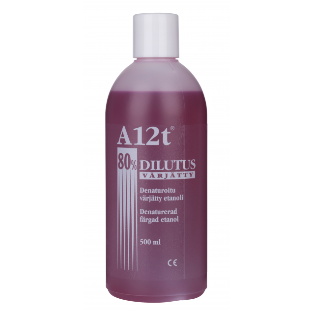 A12t Dilutus 80% 500 ml punainen