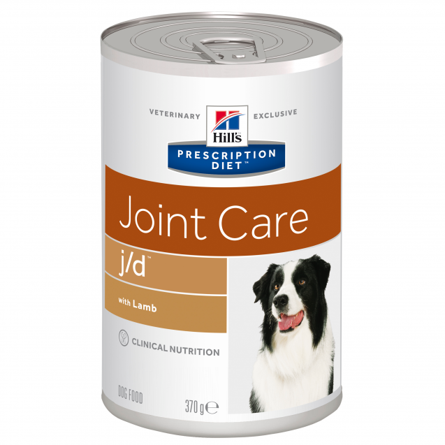 Hill's Prescription Diet Canine j/d säilyke 12x370 g