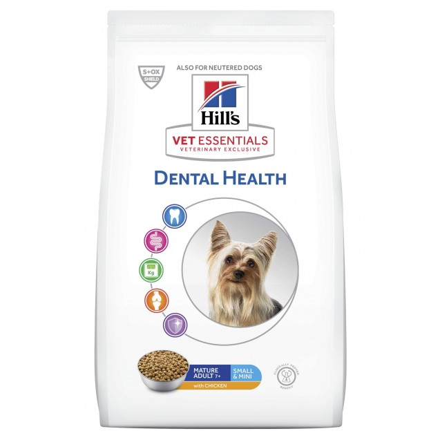 Hill's Vet Essentials Canine Mature Adult 7+ Dental Health Small & Mini 2 kg