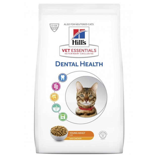 Hill's Vet Essentials Feline Young Adult Dental Health 10 kg
