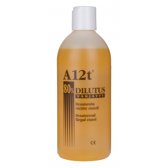 A12t Dilutus 80% 500 ml keltainen