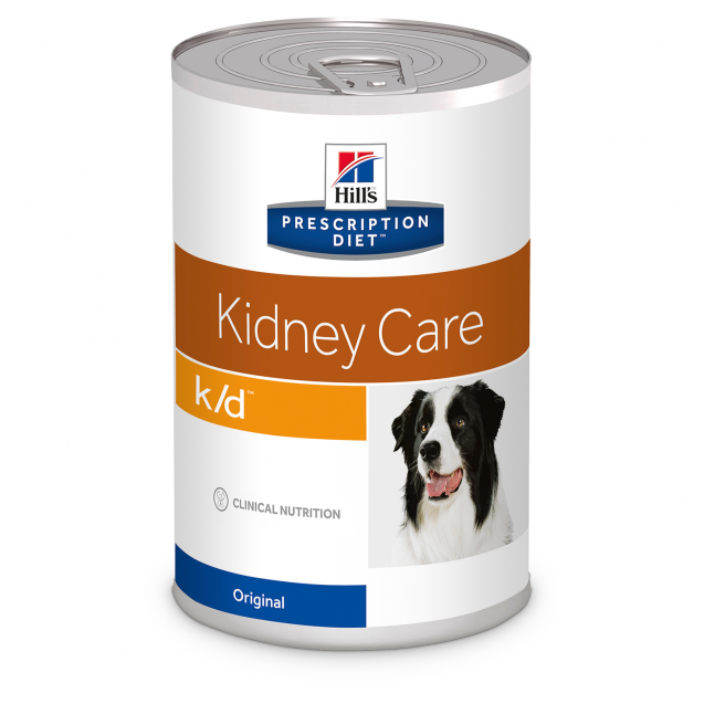 Hill's Prescription Diet Canine k/d säilyke 12x370 g