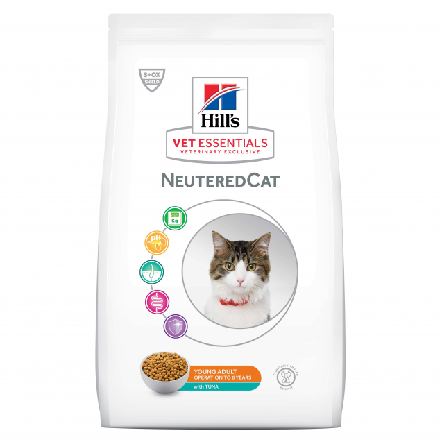 Hill's Vet Essentials Neutered Cat Young Adult Tuna 1.5 kg