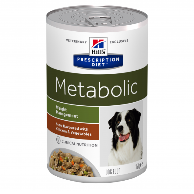 Hill's Prescription Diet Canine Metabolic muhennos 12x354 g