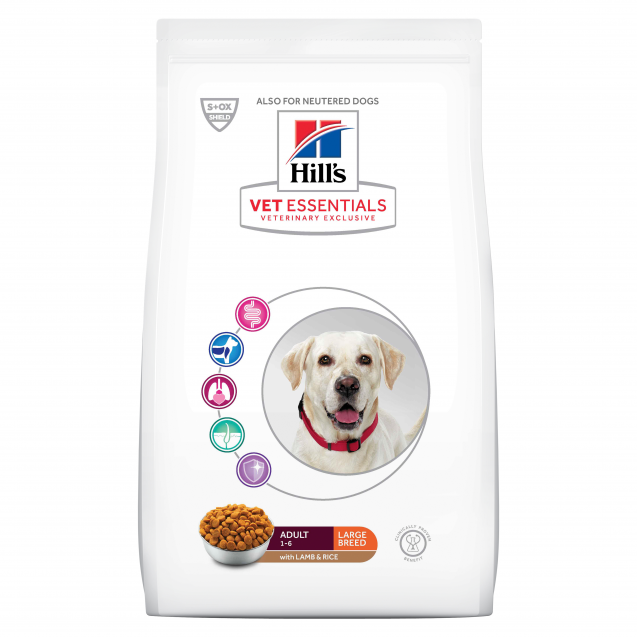 Hill's Vet Essentials Canine Adult Large Breed Lamb&Rice 16 kg