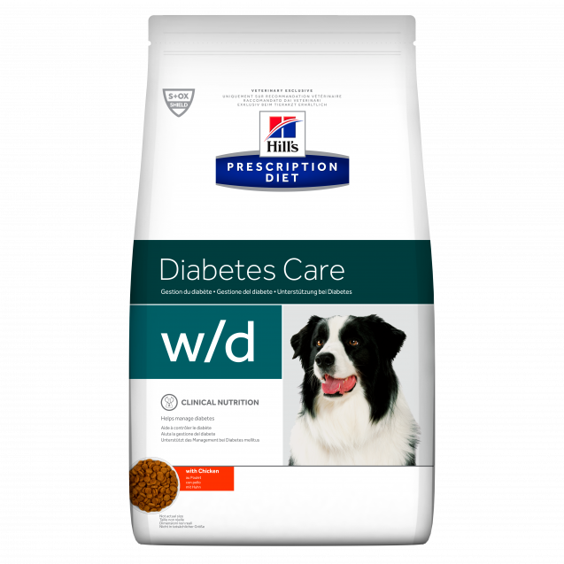 Hill's Prescription Diet Canine w/d 4 kg