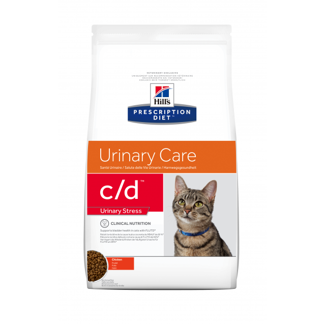 Hill's Prescription Diet Feline c/d Stress 4 kg