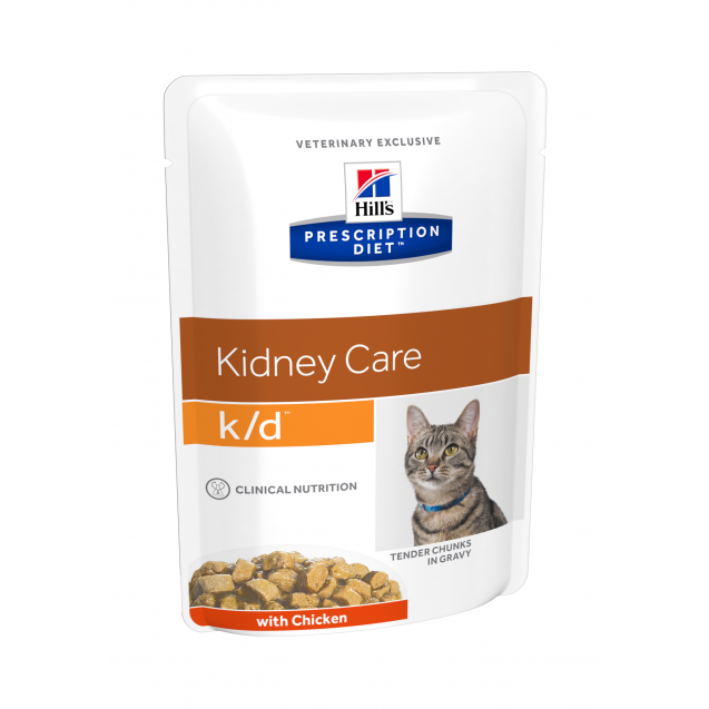 Hill's Prescription Diet Feline k/d annospussit 12x85 g