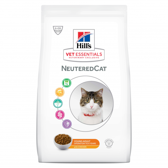 Hill's VetEssentials Neutered Cat Young Adult Chicken 1,5 kg