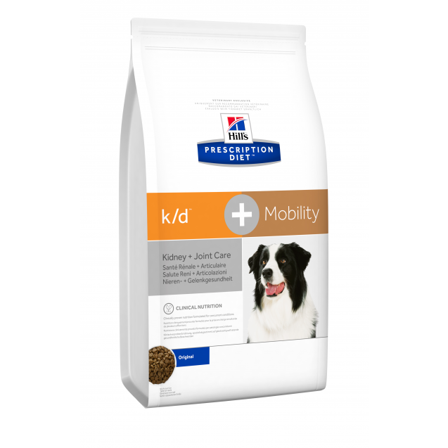 Hill's Prescription Diet Canine k/d+Mobility 5 kg