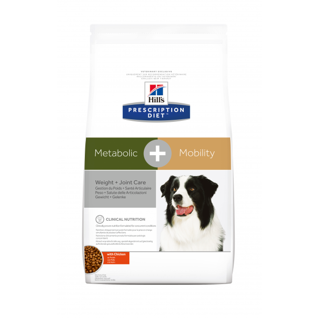 Hill's Prescription Diet Canine Metabolic+Mobility 4 kg