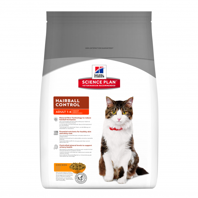 Hill's Science Plan Feline Adult Hairball Control 5 kg