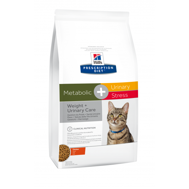 Hill's Prescription Diet Feline Metabolic+Urinary Stress 4 kg