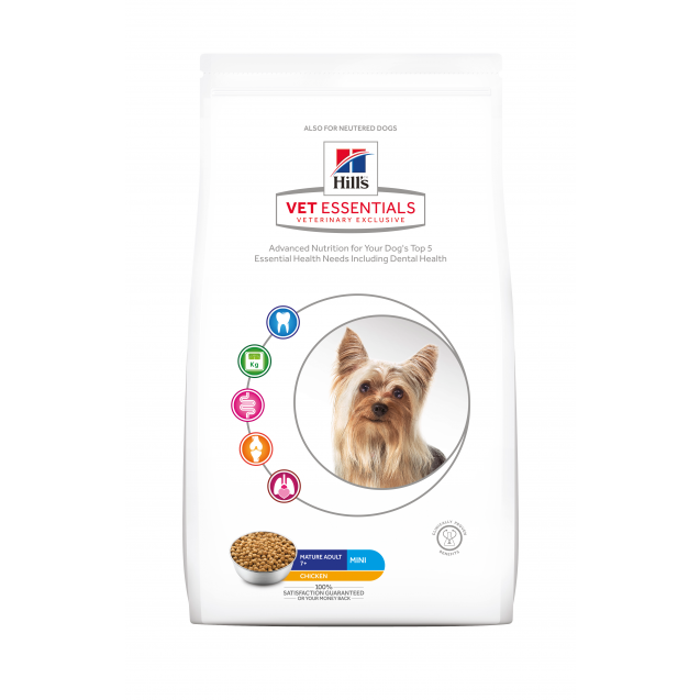 Hill's Vet Essentials Canine Mature Adult 7+ Mini 7 kg