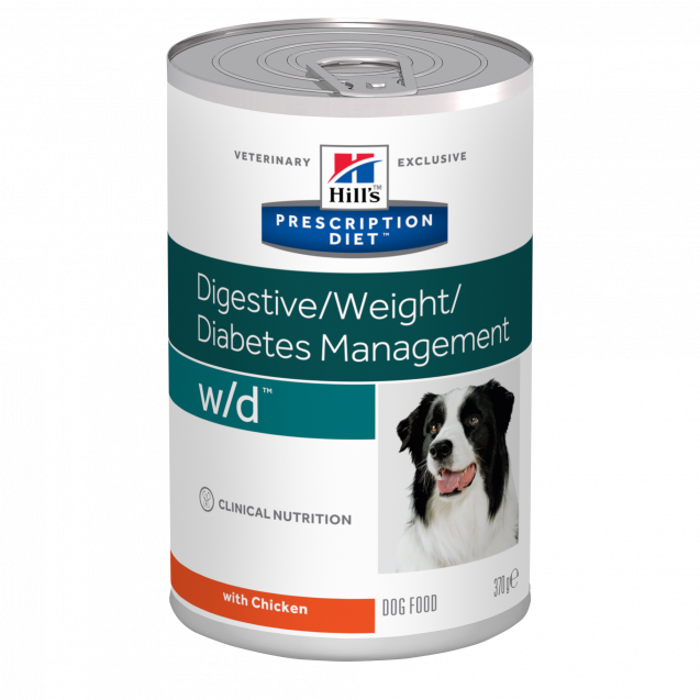 Hill's Prescription Diet Canine w/d säilyke 12x370 g