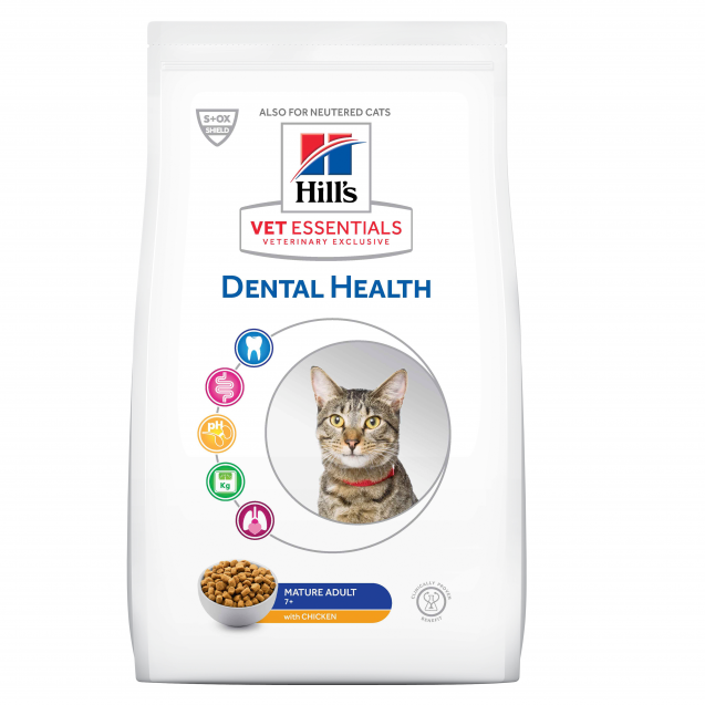 Hill's Vet Essentials Feline Mature Adult Dental Health 6,5 kg
