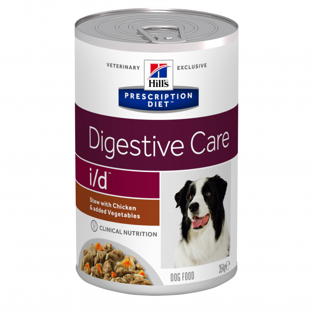 Hill's Prescription Diet Canine i/d muhennos 12x354 g