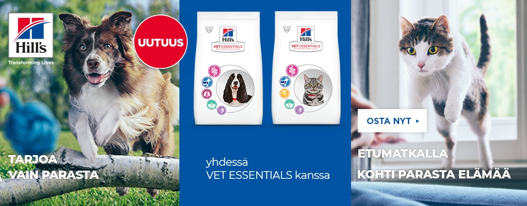 Hill's Vet Essentials uudistus  banneri